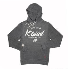 Kloud Chiller hoody Grey by Kloud Clothing Co