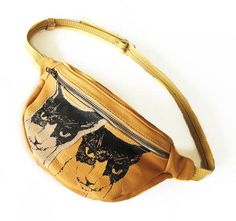 Two Cat Fanny Pack