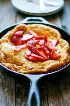 Baked Skillet Pancakes