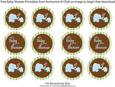 Free elephant baby shower printables, cake toppers or favor tags baby Baby Shower Cake Sayings, Baby Shower Cake Pops, Baby Shower Cakes For Boys, Baby Shower Desserts, Baby Shower Themes, Baby Boy Shower, Shower Ideas, Free Baby Shower Printables, Baby Shower Labels