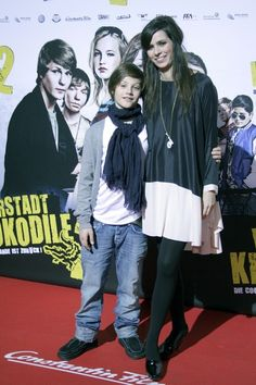 Nora Tschirner Photos - Actors Nick Romeo Reimann and Nora Tschirner attend the Vorstadtkrokodile 2 Germany Premiere at the Cinedom on January 17, 2010 in Cologne, Germany - Nora Tschirner Photos - 122 of 208