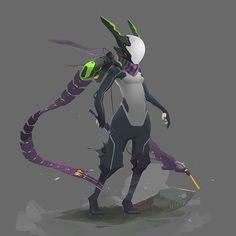 ArtStation - Arif Restu Robot Concept Art, Armor Concept, Robots Characters, Fantasy Characters, Character Concept, Character Art, Space Opera, Arte Cyberpunk, Futuristic Armour