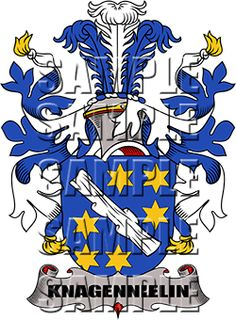 Knagennielin Family Crest apparel, Knagennielin Coat of Arms gifts