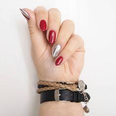 """3,637 Likes, 38 Comments - Patrycja Kierońska (@patabloguje) on Instagram: """"Miało być: kobieco, czerwono, prosto... choć z nutką czegoś wyszukanego. To jak? Będzie?  #nails…"""""""
