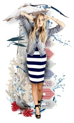 """""""Sea Dream"""" by sagramora ❤ liked on Polyvore featuring art"""