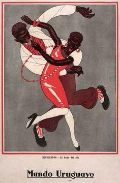 FP 1926 Black Americana Charleston Jazz Swing Dance Poster | eBay