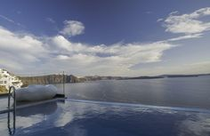 Enjoy the view from the infinity pool of your luxury suite!