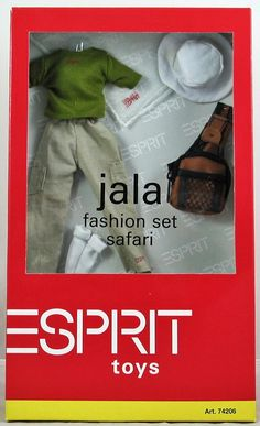 Ideal Jala Esprit Barbie Fashion Set Assorted Styles