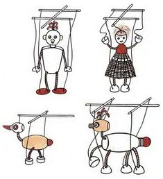 Как сделать куклу марионетку своими руками