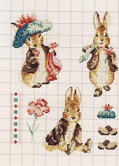Милые сердцу штучки: Le monde de Beatrix Potter от Veronique Enginger (схемы)
