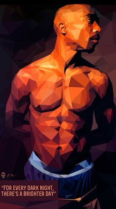 Low-Poly Portrait Illustrations for Inspiration - 25 #lowpoly #illustration #lowpolyportrait