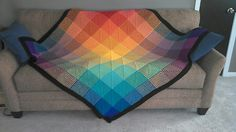 Ravelry: lucyd's Hue Shift Afghan