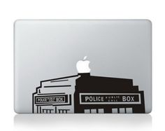 police box macbook decals mac book pro decal mac sticker macbook air decal apple macbook decal stickers for 11 13 15 17 inch. etsy.com