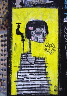 Board: street art. by Maja Ulrikka  Bruun Laus