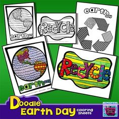 Just in the nick of time! Brand new doodle Earth Day coloring sheets!Each page is full of unique doodles that take a traditional coloring sheet to a whole new level!! What makes these unique is that students will color the exact way they have in the past, but the end result looks amazing!