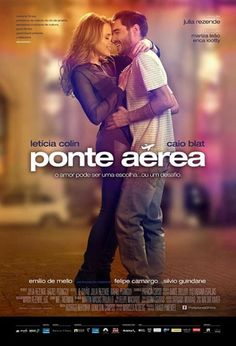 Ponte Aérea (2015). Bruno and Amanda have to face the difficulties of a long distance relationship after meeting in a flight forced into an emergency landing.