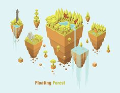 "Check out new work on my @Behance portfolio: ""Floating Forest"" http://be.net/gallery/59689957/Floating-Forest"