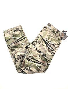 f62d3c25b UA Under Armour Ridge Reaper Camo Pants Size 36x34 Mens 1254259-951 NWT  149.99