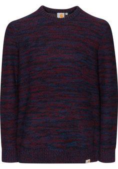 #CARHARTT  Accent #Sweater , Knit-Sweatshirt, jupiter-heather #titus #skateshop