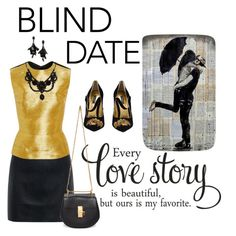 """Blind Date"" by elarmariodelola ❤ liked on Polyvore featuring McQ by Alexander McQueen, Oscar de la Renta, Dolce&Gabbana, Chloé and Gucci"