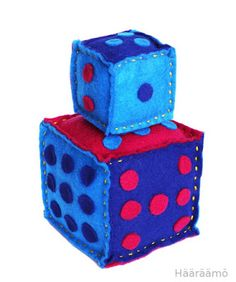 Math Numbers, Math For Kids, Cube, Decorative Boxes, Textiles, Teaching, Sewing, Crafts, Home Decor
