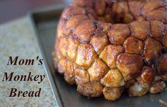 Mom's Monkey Bread - a FUN cinnamon sugar pull-apart bread that's sure to please the whole family!