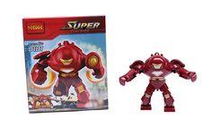 Wholesale 10pcs Decool 0181 Building Blocks Super Heroes Figures Iron man's Hulk Buster Bricks Figures Toys for Children #Affiliate