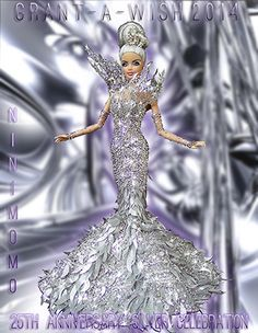 Collectible Barbie Dolls   Custom Barbies   Designer OOAK Barbie Doll
