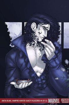 Jean Claude the Vampire Master of St. Louis from Anita Blake, Vampire Hunter by LKH - I love him