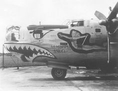 "Consolidated B-24L-10-FO, 44-49624, ""Armored Angel"", 374th Bomb Squadron 308th Bombardment Group"