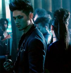 Harry Shum Jr. as Magnus Bane in Shadowhunters