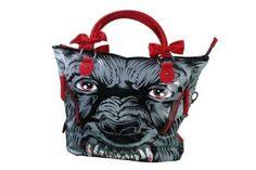 Iron Fist Werewolf Wolfbeater Hand-bag Vegan Purse,$40.00