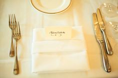 Simple what my table place settings will look like