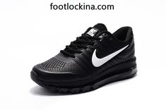outlet store ffda5 a7678 cheap nike air max 2017 leather black white shoes Cheap Nike Air Max, Grey  Shoes