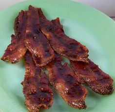 brown sugar,peppered bacon