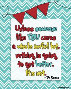 {free} Dr Seuss printable quote