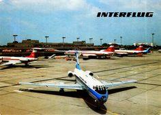 DDR Flughafen Berlin-Schönefeld (SXF) mit TU-134