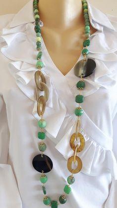 "Nouveau 10-16 mm South Sea Gray Perle Baroque Collier 18/"""