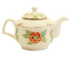 'The Flower Collection' Teapot - Handmade & Hand-Painted at The Ceramic Workshop of St. Elisabeth Convent | catalog.obitel-minsk.com/ceramics-workshop