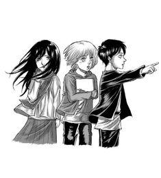 Mikasa, Armin, Rivamika, Attack On Titan, Cool Girl, Shit Happens, Shingeki No Kyojin