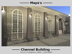 Maya's  Architecture - Channel Building