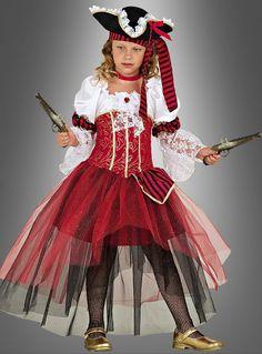 Piraten Prinzessin Kinderkostüm bei Kostuempalast.de