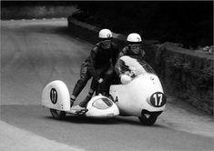 An poster sized print, approx (other products available) - German pairing of Max Deubel & Horst Hohler (BMW) at Braddan Bridge: 1960 Sidecar TT - Image supplied by BikeSport TT Race Pics - poster sized print mm) made in Australia Fine Art Prints, Framed Prints, Canvas Prints, Framed Wall, Wall Art, Horst, Bmw Motorcycles, Photo Mugs, Photo Gifts