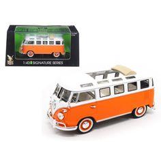 Auto-Lift ** M2 Machines Kit 1:64 OVP 1958 VW Bus 15 Window  Silver //Black
