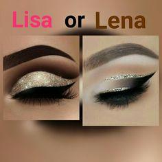 Lisa or Lena? Theme: Eye shadow @Anjalie❤