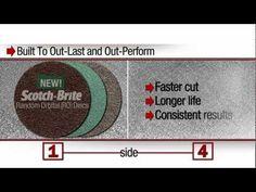 Scotch-Brite™ Match & Finish System - YouTube