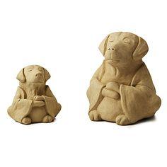 Now I need a garden... zen dog garden sculpture... for $30 #uncommongoods