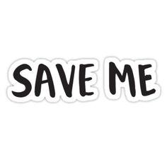 basierend auf save me von bts Hand-mit Buchstaben mit einem Pinsel Stift und vektorisiert in mit Photoshop • Also buy this artwork on stickers, apparel, phone cases und more.