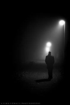 The Walk by Timo Tomkel on Alone Photography, Shadow Photography, Paint Photography, Couple Photography Poses, Dark Photography, Black And White Photography, Night Street Photography, Cultura Rave, Lion Tattoo Sleeves