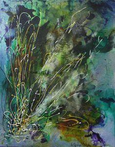 Peinture - medium Mix-Média - Denise de Grand'Maison